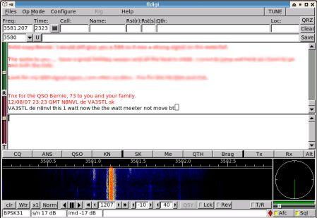 Screenshot of qso with N8NVL