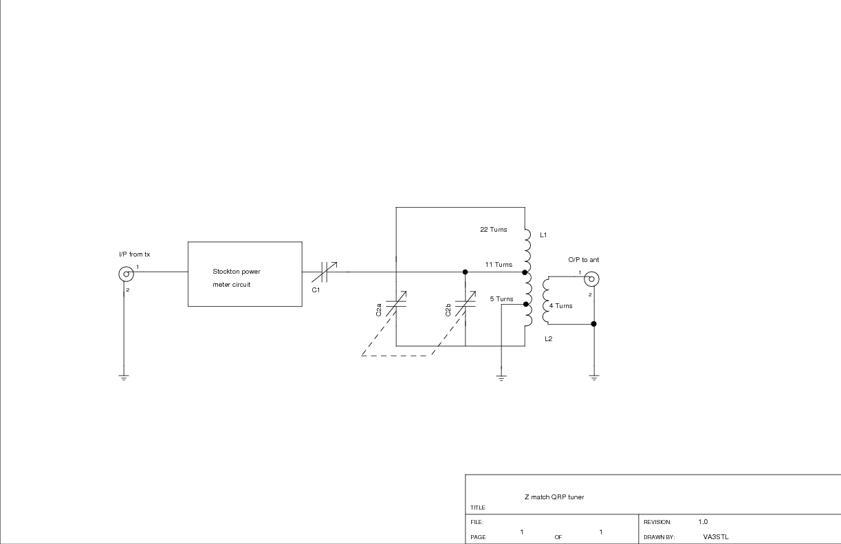 Details on the homebrew QRP Z match ATU | VA3STL's Weblog