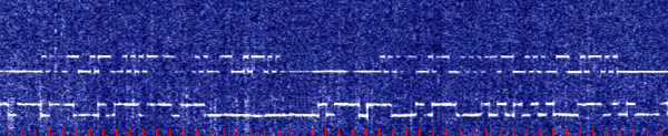 VA3STL 30m QRSS beacon received in Flordia by KJ4LDF