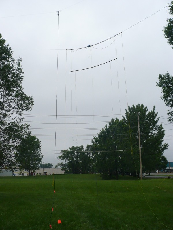 Two Field Day antennas