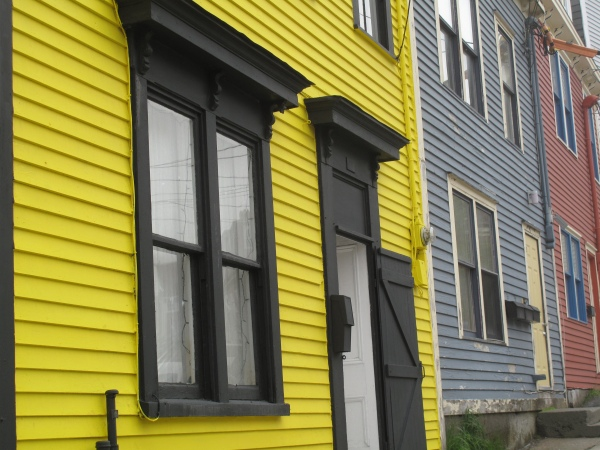 Yellow house in St John's NF
